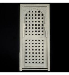 Puerta árabe con celosía y arco Arq-11.MSV