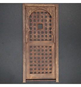 Puerta árabe de celosía Dec-1011.M