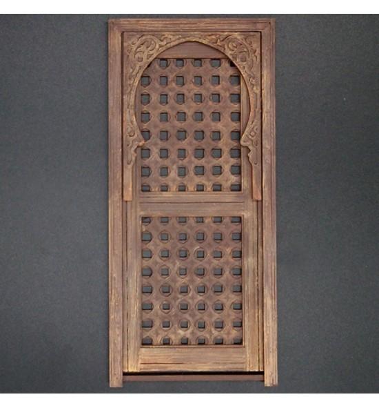 Puerta árabe de celosía Dec-1011.MSV