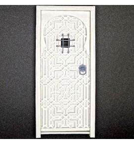 Puerta árabe con ventanuco Arq-15